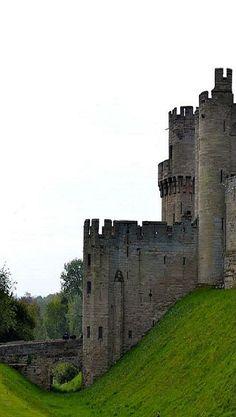 Warwick Castle in Warwickshire, England