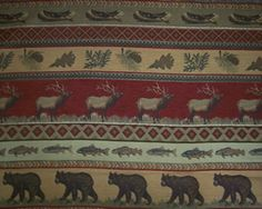 Lodge Print Fabric http://worthfabrics.com/western_tapestry_fabric.asp