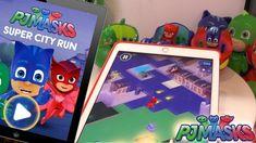 PJ Masks - super city run game Pj Masks Games, Running, City, Youtube, Keep Running, Why I Run, Cities, Youtubers, Youtube Movies