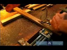 ▶ How to Make a Native American Flute : Hallowing a Wooden Flute - YouTube