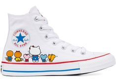 3a86cfb1281 Check out the Converse Chuck Taylor All-Star Hi Hello Kitty White available  on StockX