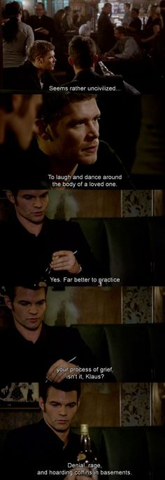 Elijah and Klaus - The Originals