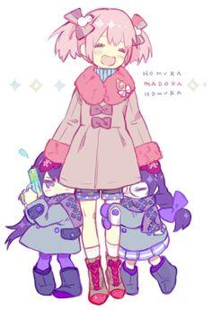 Kaname Madoka ♡ Akemi Homura