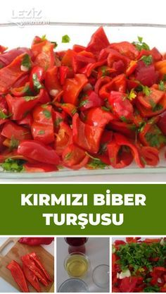Kırmızı Biber Turşusu - Trace Tutorial and Ideas Caramel Apple Cheesecake Bars, Popcorn Cake, Healthy Eyes, Banana Pancakes, Crispy Chicken, Fish Dishes, Food Pictures, Nutella, Food And Drink