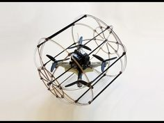Pretty brilliant and simple way to drastically extend quadrotor battery life. - HyTAQ Robot