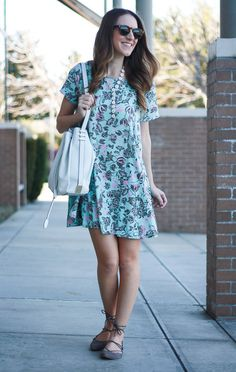 Mint Swing Dress | Twenties Girl Style