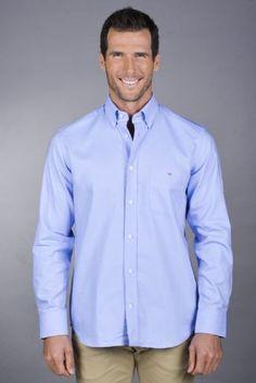 Eden Park, Ss 15, Oxford, Menswear, Shirt Dress, Classic, Casual, Mens Tops, Blue