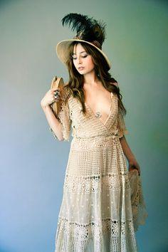 crochet dress by jackie