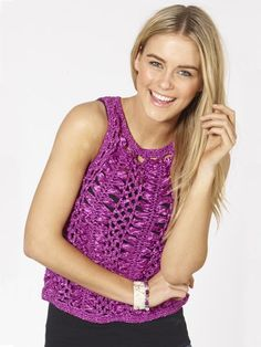 Shop a huge variety of affordable blinds available at Spotlight Australia and create your dream home. Crochet Woman, Crochet Top, Crochet Clothes, Knitting Projects, Poppy, Crochet Patterns, Spotlight, Clothes For Women, Tank Tops