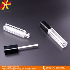 crylic lip gloss plastic square tube