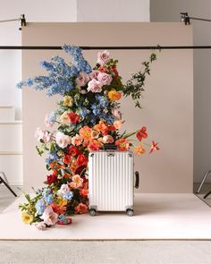 spring feels for @rimowa • shot by @alexkilian • art direction @studiobritz