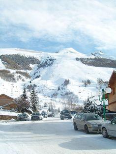 Les Deux Alpes - Skiing La rue de notre appartement