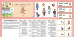 The Gingerbread Man Sensory Story Resource Pack Teaching Emotions, Special Educational Needs, Traditional Tales, Gingerbread Man, Teaching Resources, Storytelling, Packing, Learning, Cards