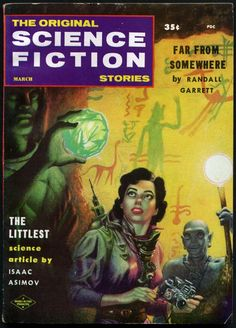 The Original Science Fiction Stories, March 1958, cover by Kelly Freas