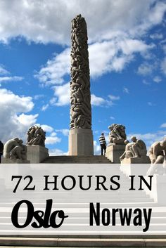 72 Hours in Oslo, Norway- really thorough guide!