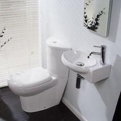 Prima Right Hand Cloakroom Pack, £131.95, BetterBathrooms.com
