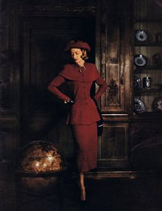 40s Vintage Knitting Patterns Minerva Fashions in by Dazespast