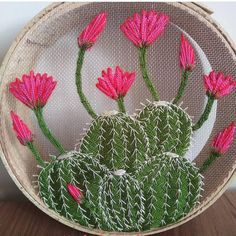 Embroidery Art, Cross Stitch Embroidery, Mexican Home Decor, Diy Home Accessories, Embroidered Roses, Ceramic Birds, Bargello, Rustic Wall Decor, All Craft