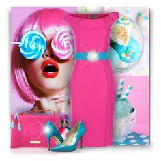 """Sweet Confections"" by debraelizabeth ❤ liked on Polyvore featuring Cotton Candy, La Petite Robe di Chiara Boni, Hervé Léger, Carvela Kurt Geiger, Missoni, BCBGeneration and Anne Klein"