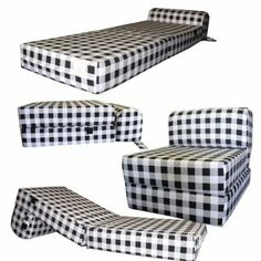 Sleeper Chair, Chair Bed, Foam Sofa Bed, Palette Furniture, Home Furniture, Cama Da Hello Kitty, Floor Pillows, Bed Pillows, Beds For Small Spaces