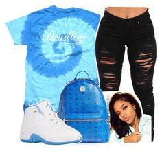 """You Love Me And Lust Me "" by httpsydney on Polyvore featuring MCM"