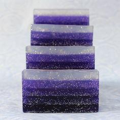 Glitter Gradient Melt and Pour Soap