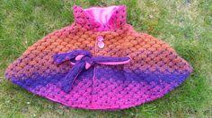 Sunny Sewing: cape/poncho met link naar patroon speciale stof gebruikt reversible tweezijdig te dragen