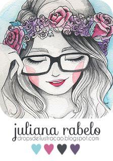 drops de ilustração | juliana rabelo: Quando o sketchbook parece ter vida própria...