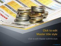 Free Finance Money PPT Template