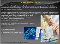 Wow love propolis Creme, it's great for dry skin, chapped skin, sore skin, ecezma, I have used it on my baby.   Handy Nummer : 0176 82654343 My Aloe Vera Forever Living Shop  http://www.be-forever.de/aloevera-wellness-shop/  Please email wellnessemy@outlook.de Sponsors Details Name: Emerita Kaufmann ID Number: 490-000-524-516 http://www.facebook.com/Bambusmassage.