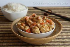 I bocconcini di pollo alle arachidi, sono un piatto che ho voluto preparare in alternativa al più conosciuto pollo alle mandorle, un secondo piatto gustoso.