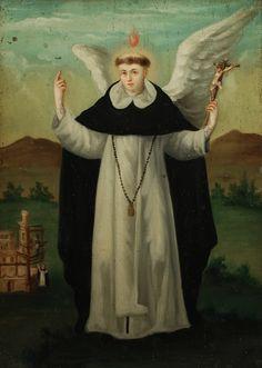 April 5: St. Vincent Ferrer (born 1350, died 1419). He is the patron saint of builders.
