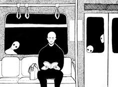 Dark Art Illustrations, Illustration Art, Dibujos Dark, Horror Drawing, Types Of Art Styles, Death Art, Dark Drawings, Sad Art, Creepy Art