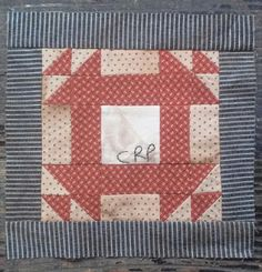 quiltsbycheri: Everyday Patchwork.... block 25