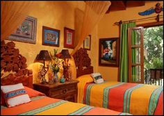 paint colors for southwestern look   ... and character in a Mexican home like no other architectural style
