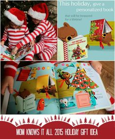 Mom Knows It All 2015 HOLIDAY GIFT GUIDE - @ISeeMeBooks Personalized Books