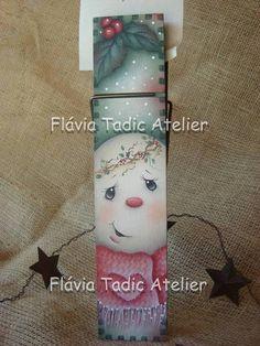 Pregador+gigante+pintado+a+mão!!!++Uma+peça+decorativa+para+presentear+no+seu+natal.