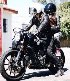 "rankxerox: ""uglybros_usa. @jason.no locked and loaded wearing TONUP THERMO Lined Armored jeans in his custom #Ducati #Scrambler www.uglybrosusa.com/shop . . . """