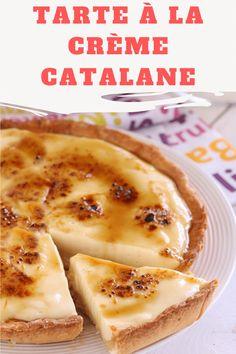 The Catalan cream pie is a creamy and irresistible dessert, the basis . Cheesecake Recipes, Dessert Recipes, Mediterranean Desserts, Macaron Recipe, Crockpot, Cake Toppings, Cream Pie, Italian Recipes, Good Food