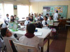Classe de uma escola elementar rural que utiliza o laptop educacional, no Uruguai || Foto: Pedro Andrade (arquivo pessoal de viagem)