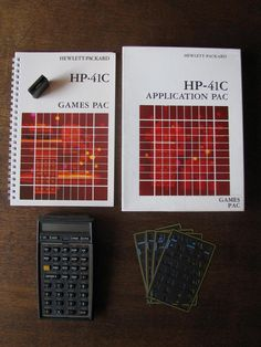 HP-41CV #vintage #programmable #calculator #RPN with Games Pac