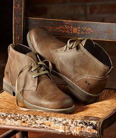 Effortlessly Cool Men's Footwear - Bragging Rights Boot - Carbon2Cobalt