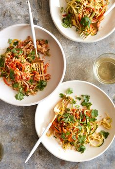 Zucchini Pad Thai from www.whatsgabycooking.com (@whatsgabycookin)