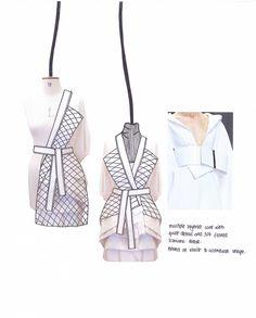 Fashion Sketchbook - fashion design development; fashion sketch; fashion portfolio // Shima Khanom