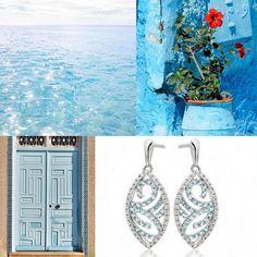 Our Sky Drop Collection starts at £2,234.00 👉 www.shardsoflondon.com/sky-drop 💙  #Jewellery #Jewelry #Diamonds