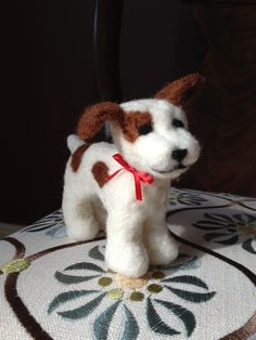 My first needle felting project