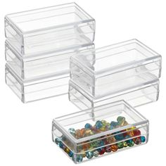 The Container Store > Mini Rectangular Boxes