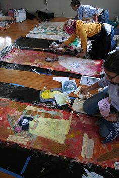 Wallpaper Workshop Artfest 2008 (workshop with Anahata Katkin)
