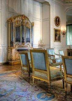 ♜ Shabby Castle Chic ♜ rich and gorgeous home decor - Grand Cabinet de Madame Adélaïde, Versailles