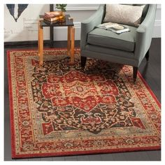 Hawly Accent Rug - Red / Red (3' X 5') - Safavieh, Natural/Red